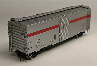 HO True Line Trains CP Express 40ft Box Car - #4907 (See Notes)