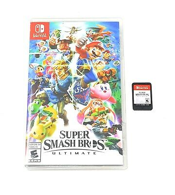 Super Smash Bros. Ultimate (Nintendo Switch, 2018) FAST FREE SHIPPING!!!