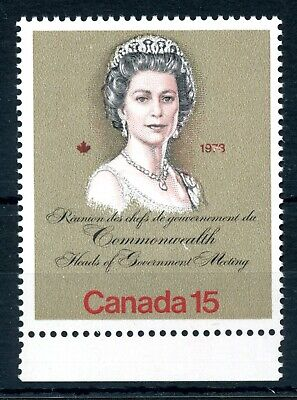 Weeda Canada 621 T3 VF MNH G2cL 1-bar tag error, 15c Royal Visit CV $60