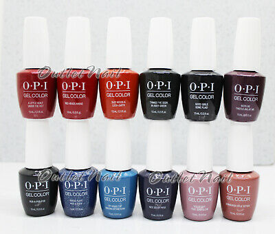 OPI Soak-Off GelColor SCOTLAND Collection Fall / Holiday 2019 @PICK Any Gel