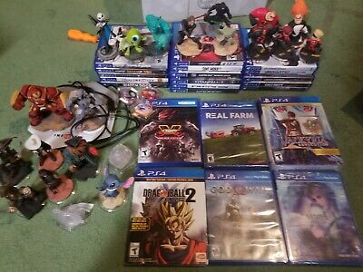 Playstation PS4 Games Lot! Rare Great Variety! Tekken 7, Dragonball, God of War!