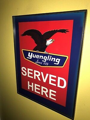 Yuengling Beer Bar Tavern Framed Advertising Print Man Cave Sign