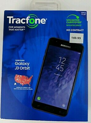 BRAND NEW SEALED Tracfone Samsung Galaxy J3 Orbit No Contract Cell