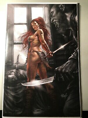 Red Sonja Birth of the She Devil #2 1:25 Lucio Parillo Virgin FOC Variant