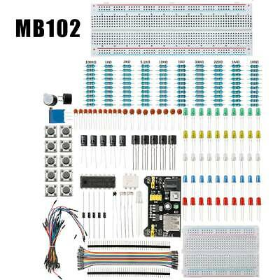 MB102 Solderless Breadboard Protoboard 400 830 Tie Point MB-102 Test Circuit PCB