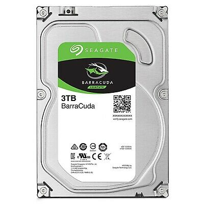 "Seagate SATA 2.5"" HDD Barracuda 3TB 5400RPM 128MB Internal Hard Disk Drive PC"