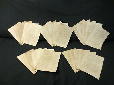 25 Harry Potter Book Pages (coffee/tea dyed) - Junk Journal, Mixed Media - L429