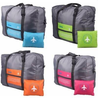 Waterproof Folding Suitcase Large Travel Bag Luggage Carry On Clothes Storage AU