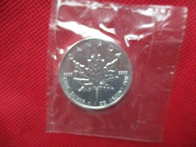 1997 Canadian Silver Maple Leaf Low Mintage 1 oz 999 Silver Round Canada RCM