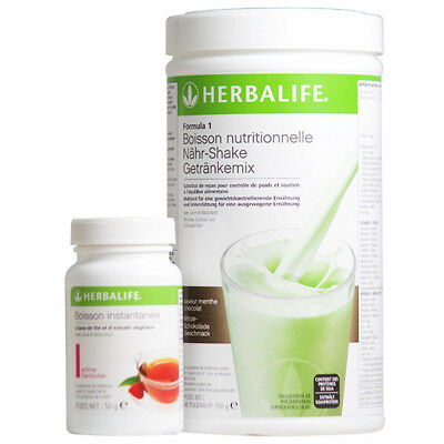 lot herbalife FORMULA 1 pot 550g +  thé 100g original neuf