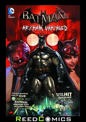 BATMAN ARKHAM UNHINGED VOLUME 1 HARDCOVER New Hardback Collects Issues #1-5