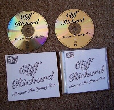 CLIFF RICHARD FOREVER THE YOUNG ONE 2 CD ** 40 Vintage Rock N Roll Tracks **