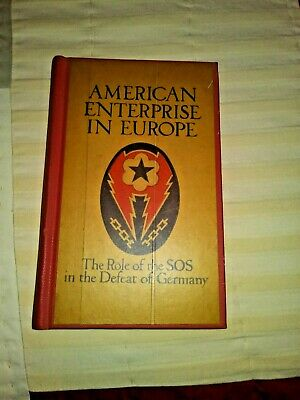 American Enterprise in Europe 1945 Hardback (Rare)