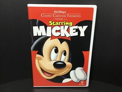 Walt Disneys Classic Cartoon Favorites Starring Mickey (DVD, 2005)