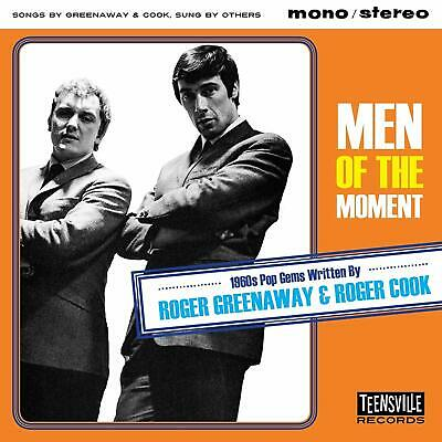 Men Of The Moment (1960s GREENWOOD/COOK)  VARIOUS  CD ALBUM  NEW(21ST AUGUST)