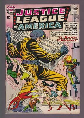 Justice League of America # 20  Mystery of Spaceman X !  grade 8.5 scarce book !