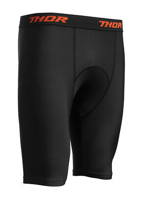 Thor MX Motocross Comp Compression Shorts (Black) Choose Size