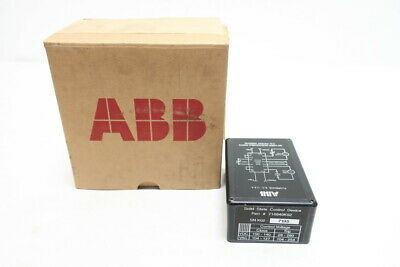 Abb 716840K02 Solid State Relay Control Device 125v-dc