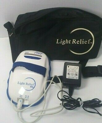 Light Relief Elite LR150 Infrared Pain Therapy Device With Carrying Bag