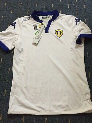 Leeds United Junior Replica Shirt Kappa