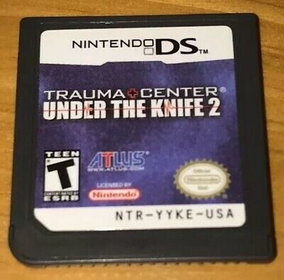 Trauma Center: Under the Knife 2 (Nintendo DS, 2008) %100 Authentic - Loose Cart