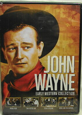 John Wayne: Early Western Collection (DVD, 2014, 2-Disc Set)NEW SEALED,FREE SHIP