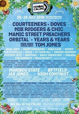 Kendal Calling 2019 Live In Vehicle Ticket