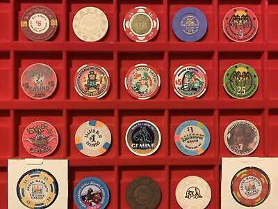 Lot Of 20 Casino Chips 3 Limited Edition St Patricks Day, Golde Club Bill & Dans