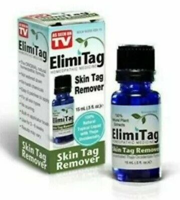 ELIMITAG SKIN TAG REMOVER WITH BRUSH - 15ml - AS SEEN ON TV  FREE SHIPPING!