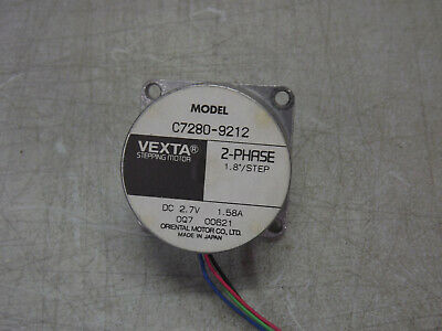 VEXTA Stepping Motor C7280-9212 2-Phase 1.8 Degree / Step 2.7VDC
