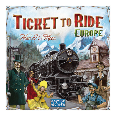 Ticket to Ride: Europe Board Game - Loot - BRAND NEW