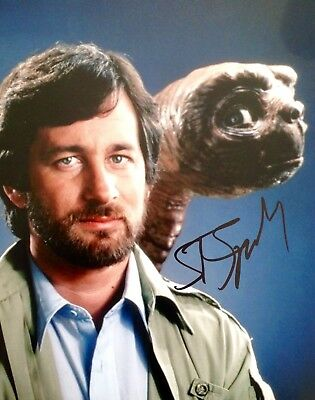 Steven Spielberg Authentic Signed Et 10X8 Photo Aftal#198