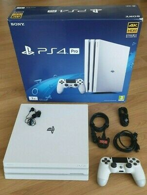 Sony PlayStation 4 Pro 1TB Console - White