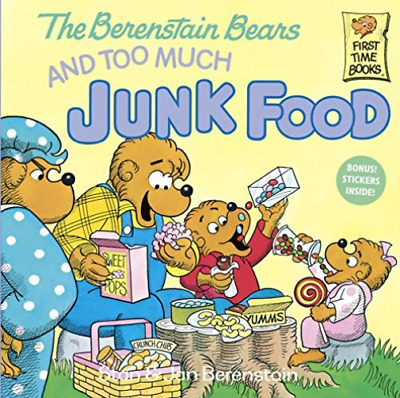 Berenstain, Stan/ Berenstai...-The Berenstain Bears And Too Much Junk F BOOK NEW