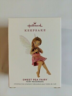 Hallmark Keepsake 2019 Fairy Messengers Sweet Pea Fairy Ornament