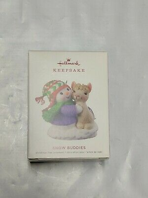 Hallmark Keepsake 2019 Snow Buddies Dated Ornament