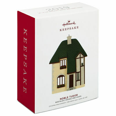Hallmark Keepsake 2019 Nostalgic Houses and Shops Noble Tudor Dated Ornament