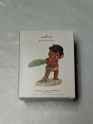 Hallmark Keepsake 2019 Disney Moana Saving a Sea Turtle Ornament