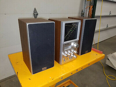 Rotel RV-555 Music System AM/FM Stereo Receiver w/ Dual Speakers - Free Shipping
