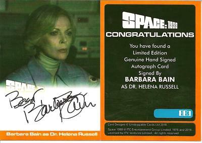 Unstoppable Cards Barbara Bain Autograph Card Bb3 Space 1999 Series 2 Tv21 A