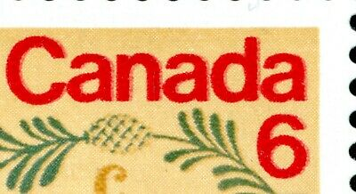 Weeda Canada 539i VF MNH field pane of 50, red printing doubled CV $500