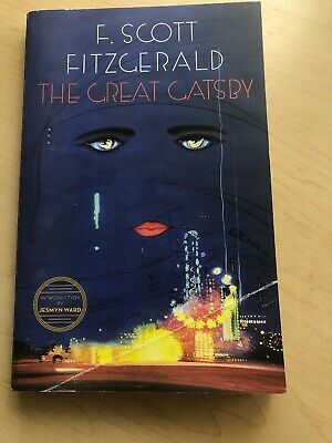 The Great Gatsby by F. Scott Fitzgerald (Paperback) Intro by Jesmyn Ward