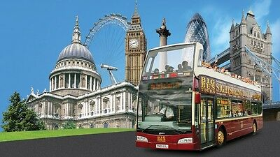 1 DAY  ADULT Ticket for BIG BUS LONDON OPEN TOP BUS TOUR * FLEXible DATE