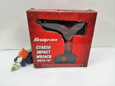 """Snap On Tools Impact Wrench Water Toy CT4850 NIB 2007 6"""" Red And Black"""