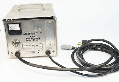 Lestronic II 36 Volt Fully Automatic Battery Charger Model 16500 Type 36LC21-6ET