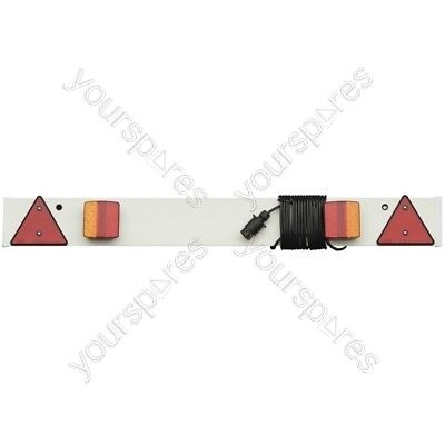 Maypole Trailer Lighting Board LED - 5m Cable - 4'/1.22m