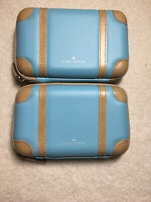 ANA All Nippon Airways GloBe-trotter Light Blue AMENITY KIT EMPTY Case Only