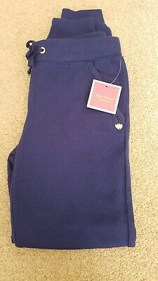 Brand New Girls Royal Blue Juicy Couture Pants Bottoms Track Suit Age 7-8 Rp£60