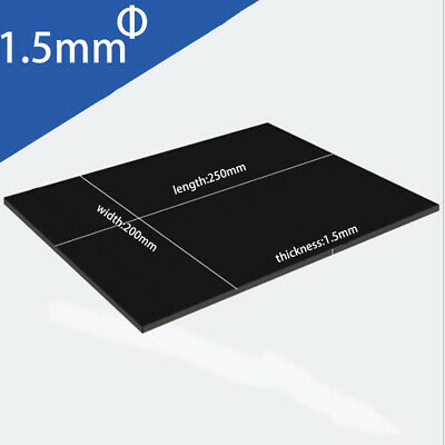 Plastic Sheet Black Board Vacuum Forming DIY RC Body CA Thick ABS Hot Nice Best