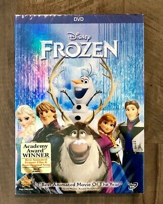 Frozen DVD Brand New Disney Film with Free Shipping 2014 Bonus Features